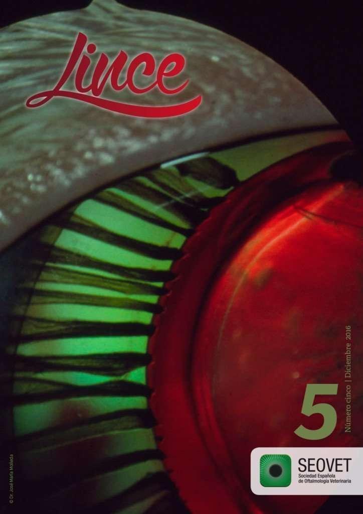 Lince 5, la revista de la Sociedad Española de Oftalmología Veterinaria
