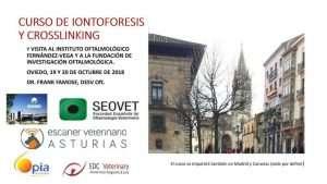 Curso de Iontoforesis y Crosslinking @ Oviedo