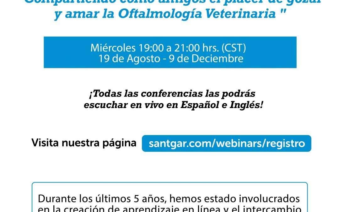 Ciclo internacional de pláticas en oftalmología veterinaria